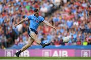 13 July 2019; Brian Fenton of Dublin scores his side's fifth goal of the game during the GAA Football All-Ireland Senior Championship Quarter-Final Group 2 Phase 1 match between Dublin and Cork at Croke Park in Dublin. Photo by Eóin Noonan/Sportsfile