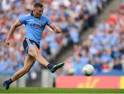 13 July 2019; Ciarán Kilkenny of Dublin scores his side's fourth goal of the game during the GAA Football All-Ireland Senior Championship Quarter-Final Group 2 Phase 1 match between Dublin and Cork at Croke Park in Dublin. Photo by Eóin Noonan/Sportsfile