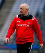 13 July 2019; Cork manager Ronan McCarthy ahead of the GAA Football All-Ireland Senior Championship Quarter-Final Group 2 Phase 1 match between Dublin and Cork at Croke Park in Dublin. Photo by Daire Brennan/Sportsfile