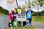 13 July 2019; The Kiely and Kennedy-Walsh family's from Co. Waterford who took part in the family fun run before the Irish Runner 10 Mile in conjunction with the AAI National 10 Mile Championships at Phoenix Park in Dublin. Photo by Matt Browne/Sportsfile