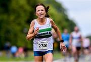 13 July 2019; Angela McCann from Clonmel AC, Co. Tipperary, who came third in the ladies Irish Runner 10 Mile in conjunction with the AAI National 10 Mile Championships at Phoenix Park in Dublin. Photo by Matt Browne/Sportsfile