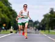 13 July 2019; David Mansfield, from Clonmel AC, Co. Tipperary, who came 2nd in the Irish Runner 10 Mile in conjunction with the AAI National 10 Mile Championships at Phoenix Park in Dublin. Photo by Matt Browne/Sportsfile
