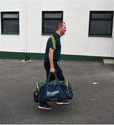 14 July 2019; Meath manager Andy McEntee arrives ahead of the GAA Football All-Ireland Senior Championship Quarter-Final Group 1 Phase 1 match between Donegal and Meath at MacCumhaill Park in Ballybofey, Donegal. Photo by Daire Brennan/Sportsfile
