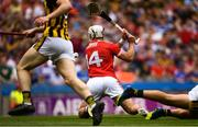 14 July 2019; Patrick Horgan of Cork scores his side's second goal of the game during the GAA Hurling All-Ireland Senior Championship quarter-final match between Kilkenny and Cork at Croke Park in Dublin. Photo by Ramsey Cardy/Sportsfile