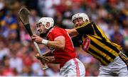 14 July 2019; Patrick Horgan of Cork beats the tackle by Padraig Walsh of Kilkenny on his way to scoring his side's second goal during the GAA Hurling All-Ireland Senior Championship quarter-final match between Kilkenny and Cork at Croke Park in Dublin. Photo by Ramsey Cardy/Sportsfile