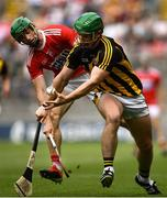 14 July 2019; Paul Murphy of Kilkenny in action against Seamus Harnedy of Cork during the GAA Hurling All-Ireland Senior Championship quarter-final match between Kilkenny and Cork at Croke Park in Dublin. Photo by Ramsey Cardy/Sportsfile