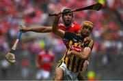 14 July 2019; Colin Fennelly of Kilkenny in action against Mark Ellis of Cork during the GAA Hurling All-Ireland Senior Championship quarter-final match between Kilkenny and Cork at Croke Park in Dublin. Photo by Ramsey Cardy/Sportsfile