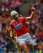 14 July 2019; Patrick Horgan of Cork celebrates scoring his side's third goal, in the 55th minute, during the GAA Hurling All-Ireland Senior Championship quarter-final match between Kilkenny and Cork at Croke Park in Dublin. Photo by Ray McManus/Sportsfile