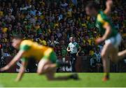 14 July 2019; Meath manager Andy McEntee watches on during the GAA Football All-Ireland Senior Championship Quarter-Final Group 1 Phase 1 match between Donegal and Meath at MacCumhaill Park in Ballybofey, Donegal. Photo by Daire Brennan/Sportsfile