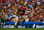 14 July 2019; Adrian Mullen of Kilkenny in action against Mark Ellis of Cork during the GAA Hurling All-Ireland Senior Championship quarter-final match between Kilkenny and Cork at Croke Park in Dublin. Photo by Ramsey Cardy/Sportsfile
