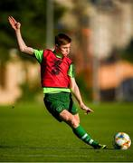 14 July 2019; Brandon Kavanagh during a Republic of Ireland training session ahead of his side's opening game of the 2019 UEFA European U19 Championships at the FFA Technical Centre in Yerevan, Armenia. Photo by Stephen McCarthy/Sportsfile