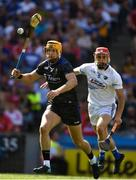 14 July 2019; Séamus Callanan of Tipperary in action against Jack Kelly of Laois during the GAA Hurling All-Ireland Senior Championship quarter-final match between Tipperary and Laois at Croke Park in Dublin. Photo by Ray McManus/Sportsfile