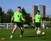 14 July 2019; Mark McGuinness during a Republic of Ireland training session ahead of his side's opening game of the 2019 UEFA European U19 Championships at the FFA Technical Centre in Yerevan, Armenia. Photo by Stephen McCarthy/Sportsfile