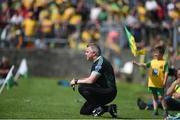 14 July 2019; Donegal selector Stephen Rochford watches on during the GAA Football All-Ireland Senior Championship Quarter-Final Group 1 Phase 1 match between Donegal and Meath at MacCumhaill Park in Ballybofey, Donegal. Photo by Daire Brennan/Sportsfile