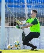 14 July 2019; Brian Maher during a Republic of Ireland training session ahead of their opening game of the 2019 UEFA European U19 Championships at the FFA Technical Centre in Yerevan, Armenia. Photo by Stephen McCarthy/Sportsfile