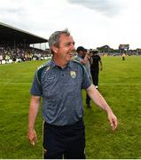 14 July 2019; Kerry manager Peter Keane following the GAA Football All-Ireland Senior Championship Quarter-Final Group 1 Phase 1 match between Kerry and Mayo at Fitzgerald Stadium in Killarney, Kerry. Photo by Eóin Noonan/Sportsfile