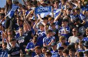 14 July 2019; Laois supporters, on Hill 16, after the GAA Hurling All-Ireland Senior Championship quarter-final match between Tipperary and Laois at Croke Park in Dublin. Photo by Ray McManus/Sportsfile