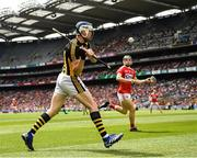 14 July 2019; Walter Walsh of Kilkenny fires in a shot during the GAA Hurling All-Ireland Senior Championship quarter-final match between Kilkenny and Cork at Croke Park in Dublin. Photo by Ray McManus/Sportsfile