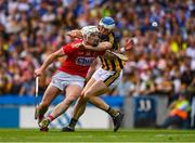 14 July 2019; Patrick Horgan of Cork  in action against Huw Lawlor of Kilkenny during the GAA Hurling All-Ireland Senior Championship quarter-final match between Kilkenny and Cork at Croke Park in Dublin. Photo by Ray McManus/Sportsfile