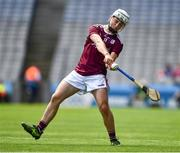 14 July 2019; Sean McDonagh of Galway during the Electric Ireland GAA Hurling All-Ireland Minor Championship quarter-final match between Kilkenny and Galway at Croke Park in Dublin. Photo by Ray McManus/Sportsfile