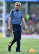 14 July 2019; Kerry manager Peter Keane prior to the GAA Football All-Ireland Senior Championship Quarter-Final Group 1 Phase 1 match between Kerry and Mayo at Fitzgerald Stadium in Killarney, Kerry. Photo by Brendan Moran/Sportsfile