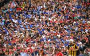 14 July 2019; Supporters watch from the Hogan Stand during the GAA Hurling All-Ireland Senior Championship quarter-final match between Kilkenny and Cork at Croke Park in Dublin. Photo by Ray McManus/Sportsfile