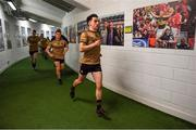 14 July 2019; Brian Ó Beaglaíoch of Kerry runs out of the dressingroom prior to the GAA Football All-Ireland Senior Championship Quarter-Final Group 1 Phase 1 match between Kerry and Mayo at Fitzgerald Stadium in Killarney, Kerry. Photo by Brendan Moran/Sportsfile