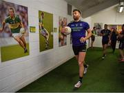 14 July 2019; Aidan O'Shea of Mayo runs out of the dressingroom prior to the GAA Football All-Ireland Senior Championship Quarter-Final Group 1 Phase 1 match between Kerry and Mayo at Fitzgerald Stadium in Killarney, Kerry. Photo by Brendan Moran/Sportsfile