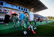 15 July 2019; Lee O'Connor of Republic of Ireland prior to the 2019 UEFA European U19 Championships group B match between Norway and Republic of Ireland at FFA Academy Stadium in Yerevan, Armenia. Photo by Stephen McCarthy/Sportsfile