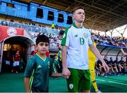 15 July 2019; Brandon Kavanagh of Republic of Ireland prior to the 2019 UEFA European U19 Championships group B match between Norway and Republic of Ireland at FFA Academy Stadium in Yerevan, Armenia. Photo by Stephen McCarthy/Sportsfile