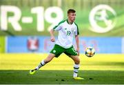 15 July 2019; Brandon Kavanagh of Republic of Ireland during the 2019 UEFA European U19 Championships group B match between Norway and Republic of Ireland at FFA Academy Stadium in Yerevan, Armenia. Photo by Stephen McCarthy/Sportsfile