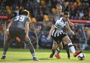 17 July 2019; Robbie Benson of Dundalk in action during the UEFA Champions League First Qualifying Round 2nd Leg match between Riga and Dundalk at Skonto Stadium in Riga, Latvia. Photo by Roman Koksarov/Sportsfile