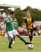 11 July 2019; Joel Coustrain of Cork City during the UEFA Europa League First Qualifying Round 1st Leg match between Cork City and Progres Niederkorn at Turners Cross in Cork. Photo by Eóin Noonan/Sportsfile