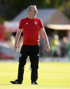 11 July 2019; Cork City Interim-Manager Frank Kelleher during the UEFA Europa League First Qualifying Round 1st Leg match between Cork City and Progres Niederkorn at Turners Cross in Cork. Photo by Eóin Noonan/Sportsfile