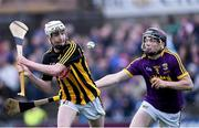 17 July 2019; Sean Ryan of Kilkenny in action against Cathal O'Connor of Wexford during the Bord Gais Energy Leinster GAA Hurling U20 Championship Final match between Kilkenny and Wexford at Innovate Wexford Park in Wexford. Photo by Matt Browne/Sportsfile