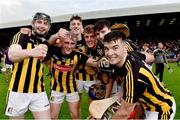 17 July 2019; Kilkenny players celebrate following the Bord Gais Energy Leinster GAA Hurling U20 Championship Final match between Kilkenny and Wexford at Innovate Wexford Park in Wexford. Photo by Matt Browne/Sportsfile