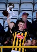 17 July 2019; Kilkenny captain Evan Shefflin lifts the cup following the Bord Gais Energy Leinster GAA Hurling U20 Championship Final match between Kilkenny and Wexford at Innovate Wexford Park in Wexford. Photo by Matt Browne/Sportsfile