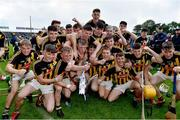 17 July 2019; Kilkenny players celebrate after the Bord Gais Energy Leinster GAA Hurling U20 Championship Final match between Kilkenny and Wexford at Innovate Wexford Park in Wexford. Photo by Matt Browne/Sportsfile