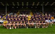 17 July 2019; The Wexford squad before the Bord Gais Energy Leinster GAA Hurling U20 Championship Final match between Kilkenny and Wexford at Innovate Wexford Park in Wexford. Photo by Matt Browne/Sportsfile