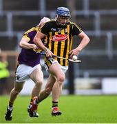 17 July 2019; Eoin O'Shea of Kilkenny in action against Wexford during the Bord Gais Energy Leinster GAA Hurling U20 Championship Final match between Kilkenny and Wexford at Innovate Wexford Park in Wexford. Photo by Matt Browne/Sportsfile