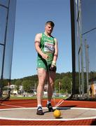 18 July 2019; Sean Mockler of Ireland competing in the Men's 6kg Hammer Throw qualifying rounds during Day One of the European Athletics U20 Championships in Borås, Sweden. Photo by Giancarlo Colombo/Sportsfile