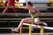 18 July 2019; Kate O'Connor of Ireland competing in the Women's Heptathlon during Day One of the European Athletics U20 Championships in Borås, Sweden. Photo by Giancarlo Colombo/Sportsfile