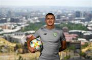 19 July 2019; Republic of Ireland's Ali Reghba poses for a portrait near their team hotel ahead of the final round of group games at the 2019 UEFA European U19 Championships in Yerevan, Armenia. Photo by Stephen McCarthy/Sportsfile