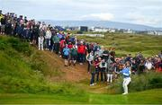 19 July 2019; Thorbjørn Olesen of Denmark chips onto the 4th green during Day Two of the 148th Open Championship at Royal Portrush in Portrush, Co Antrim. Photo by Ramsey Cardy/Sportsfile
