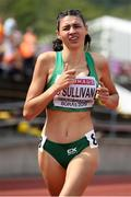 19 July 2019; Sophie O'Sullivan of Ireland competing in the Women's 800m semifinals during Day Two of the European Athletics U20 Championships in Borås, Sweden. Photo by Giancarlo Colombo/Sportsfile
