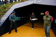 19 July 2019; Shane Lowry of Ireland walks to the 11th tee box during Day Two of the 148th Open Championship at Royal Portrush in Portrush, Co Antrim. Photo by Brendan Moran/Sportsfile