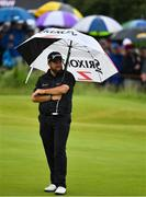 19 July 2019; Shane Lowry of Ireland on the 13th green during Day Two of the 148th Open Championship at Royal Portrush in Portrush, Co Antrim. Photo by Brendan Moran/Sportsfile