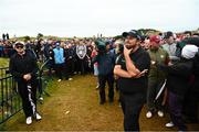 19 July 2019; Shane Lowry of Ireland looks to the green on the 17th hole during Day Two of the 148th Open Championship at Royal Portrush in Portrush, Co Antrim. Photo by Ramsey Cardy/Sportsfile