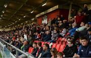 19 July 2019; A general view of the crowd after floodlight failure prior to the SSE Airtricity League Premier Division match between Derry City and Sligo Rovers at Ryan McBride Brandywell Stadium in Derry. Photo by Oliver McVeigh/Sportsfile