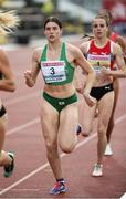 19 July 2019; Kate O'Connor of Ireland competing in the Women's Heptathlon 800m race during Day Two of the European Athletics U20 Championships in Borås, Sweden. Photo by Giancarlo Colombo/Sportsfile